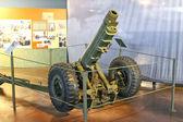 Arma en el museo de la batalla de normandía. bayeux, francia — Foto de Stock