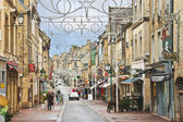 On the streets of Bayeux. Normandy, France — Foto Stock