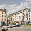 On the streets of Chartres. Normandy. France - Stock Photo
