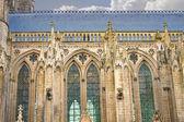 Katedrála v bayeux. normandie, francie — Stock fotografie