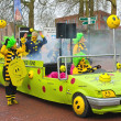 Annual Winter Carnival in Gorinchem. February 9, 2013, The Nethe — Stock Photo