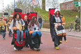 Annual Winter Carnival in Gorinchem. February 9, 2013, The Nethe — Stock Photo