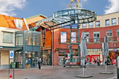 Shopping center in the dutch city of Eindhoven. Netherlands — Stock Photo