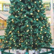Stock Photo: Christmas tree in shopping center in Eindhoven. Netherlands