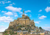 Abbey of Mont Saint Michel. Normandy, France — Stock Photo