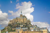 Abbey of Mont Saint Michel. Normandy, France — Stock Photo