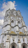 Church tower in Verneuil-sur-Avre. France — Foto de Stock