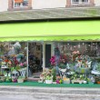 Flower shop in Verneuil-sur-Avre. France — Stock Photo