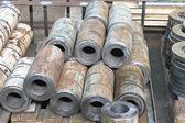 Metal workpiece of stock plant — Stock Photo