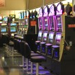 Slots in the airport McCarran in Las Vegas, Nevada — Stock Photo #34872091