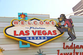 The famous Welcome to Fabulous Las Vegas Sign — Foto Stock