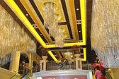 Hall and escalator Palazzo Hotel in Las Vegas — Stock Photo
