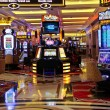 Slot machines in the Palazzo Hotel in Las Vegas — Stock Photo #35576789