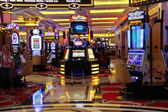 Slot machines in the Palazzo Hotel in Las Vegas — Stock Photo