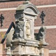 Sculptural composition in Dordrecht, Netherlands — Stock Photo #36161247