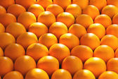 Sale of ripe oranges on the market — Stock Photo