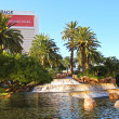 Waterfall at the Mirage hotel  in Las Vegas — Stock Photo