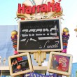 Harrah's Hotel and Casino Sign  in Las Vegas — ストック写真