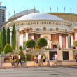 Caesar's Palace on the Vegas Strip  in Las Vegas — Stock Photo