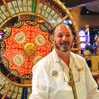 Стоковое фото: Croupier casino in Caesar's Palace in Las Vegas