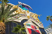 Harrah's Hotel and Casino Sign in Las Vegas — Stock Photo