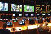 Sport betting at Caesar's Palace in Las Vegas — Stock Photo