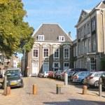 Постер, плакат: Cars on the street on September 28 2013 in Dordrecht Netherlan