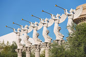 Statues of cherubs in Caesar's Palace in Las Vegas — Stock Photo