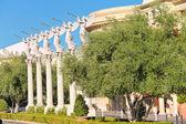 Statues of cherubs in Caesar's Palace in Las Vegas — Stock Photo