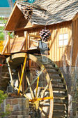Watermill in a greenhouse at Bellagio Hotel in Las Vegas — Stock Photo