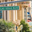 Signpost on the Las Vegas — Stock Photo