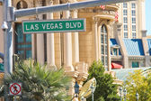 Signpost on the Las Vegas — Foto de Stock