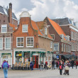 Stock Photo: Central square in Delft. Netherlands