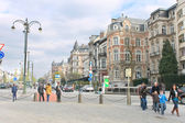 On the streets in Brussels, Belgium — Stock Photo