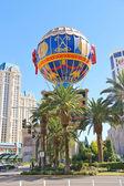 Montgolfier Balloon near Paris Hotel in Las Vegas — Foto Stock