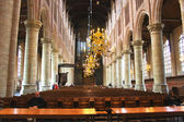 The interior of the church. Netherlands, Delft — Stock Photo