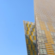Stock Photo: Ultramodern buildings hotels in City Center Las Vegas