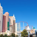 New York-New York Hotel and Casino in Las Vegas — Stock Photo