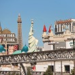Stock Photo: City landscape in Las Vegas, Nevada.