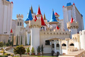 The Excalibur Hotel and Casino in Las Vegas — Stock Photo