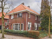 House in the suburb. Netherlands  — Stock Photo