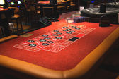 Table roulette in a casino Treasure Island. Las Vegas — Stock Photo