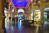 Forum shops in Caesar's Palace in Las Vegas — Stock Photo