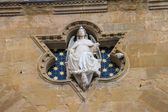 Statue of Justice at Loggia dei Lanzi, Florence, Italy — Stock Photo
