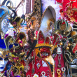 Souvenirs and carnival masks on street trading in Venice, Italy — Stock Photo #47809621
