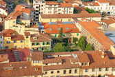 Top view of the historic center of Florence, Italy — Stockfoto