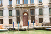 Entrance to the courthouse in Venice, Italy — Stock Photo