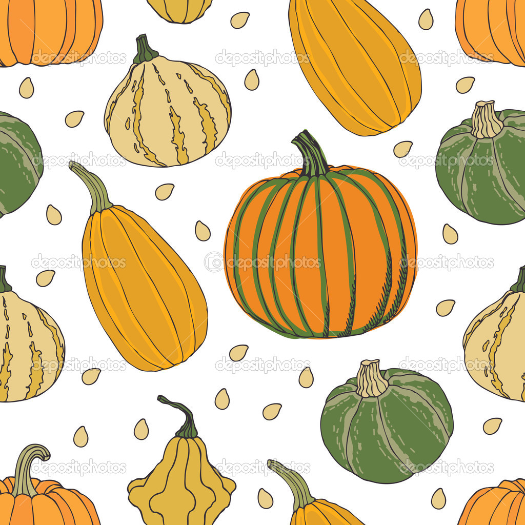 Pumpkin background — Stock Vector #13288348