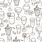 Drinks set — Stock Vector