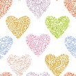 Royalty-Free Stock Vector Image: Heart ornate background